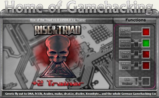 Rise of the Triad v1.0.10508.0 Steam +2 Trainer [HoG]