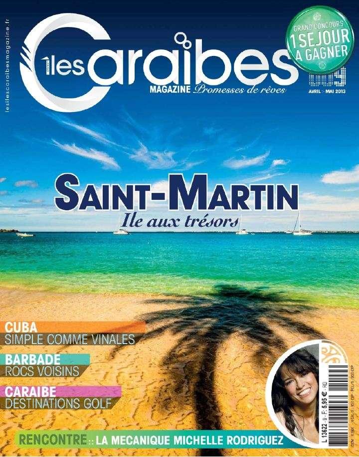 Les Iles Caraïbes Magazine N°9 Avril Mai 2013