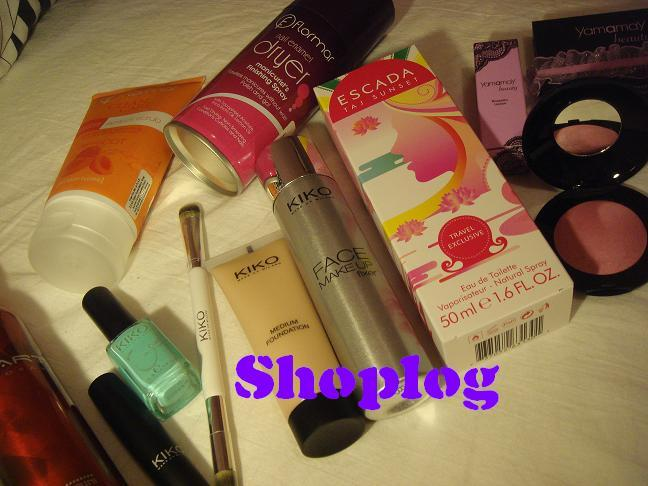 Shoplog Barcelona Beauty &#8211; Yamamay, Kiko &#038; Formar