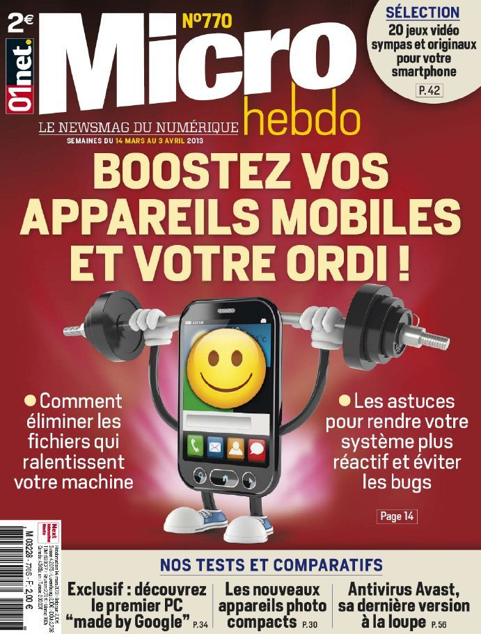 Micro Hebdo N°770 du 14 Mars au 3 Avril 2013