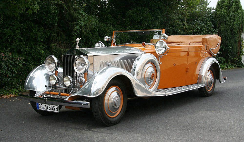 Super Cars News: Rolls-Royce Phantom II (Star of India)